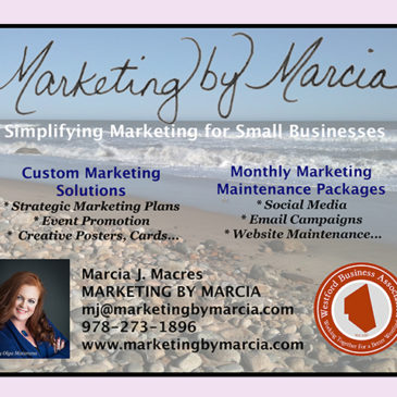 Marketing Tips by Marcia – The Importance of Social Media, Websites, Building Your Audience and Email Marketing