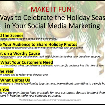 7 Ways to Celebrate the Holiday Season in Your Social Media Marketing